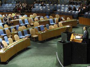 سخنرانی احمدینژاد در نشست اهداف هزاره در سازمان ملل