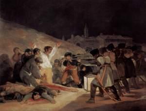 تابلوی «سوم ماه مه ۱۸۰۸» اثر فرانسیسکو گویا